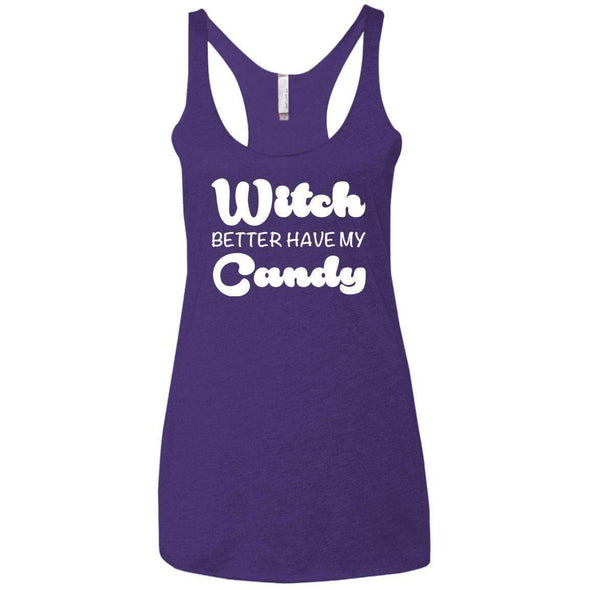Witch Better Have my Candy T-Shirts CustomCat Purple X-Small