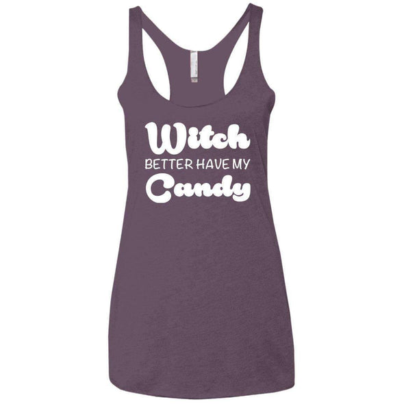 Witch Better Have my Candy T-Shirts CustomCat Vintage Purple X-Small
