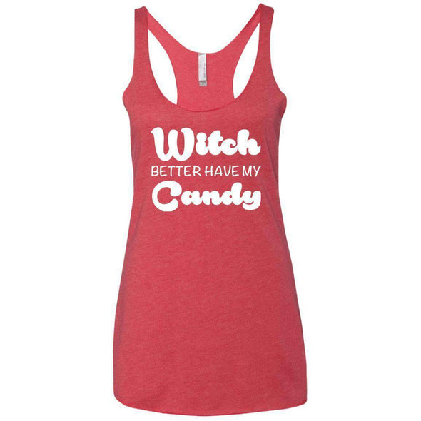 Witch Better Have my Candy T-Shirts CustomCat Vintage Red X-Small