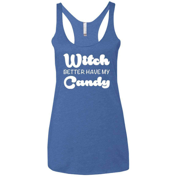 Witch Better Have my Candy T-Shirts CustomCat Vintage Royal X-Small