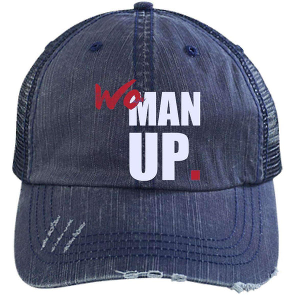 Women Up Hats CustomCat Navy/Navy One Size