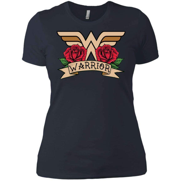 Wonder Warrior T-Shirts CustomCat Indigo X-Small