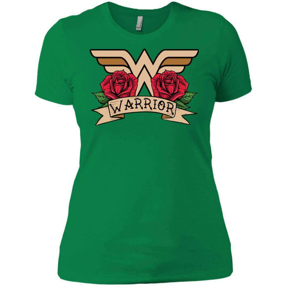 Wonder Warrior T-Shirts CustomCat Kelly Green X-Small