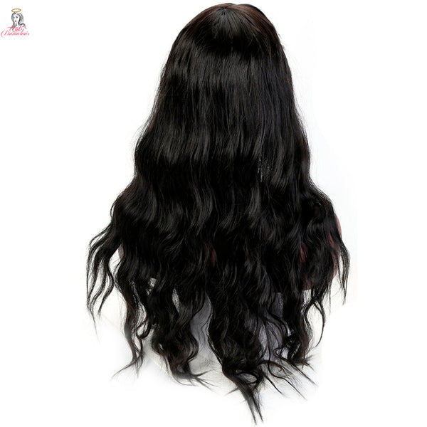 "26"" Body Wave Synthetic Wig Heat Resistant"