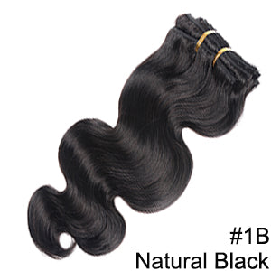 Remy Body Wave Clip In Extensions  200G Thicker Full Head  10pcs