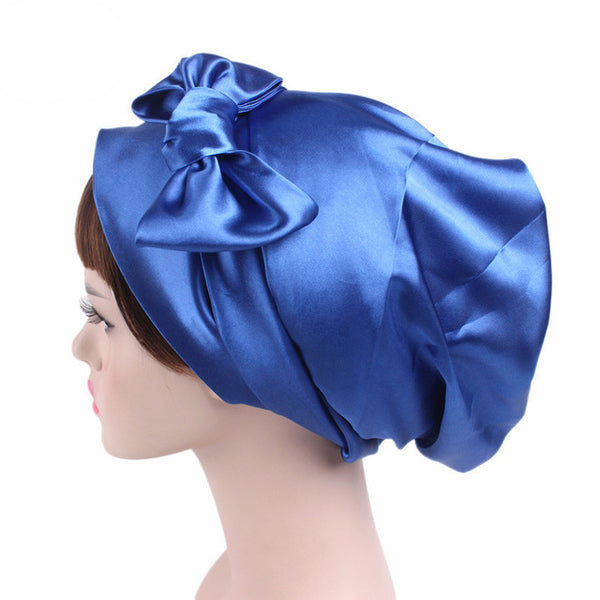 Silk Satin Sleeping Hair Wrap