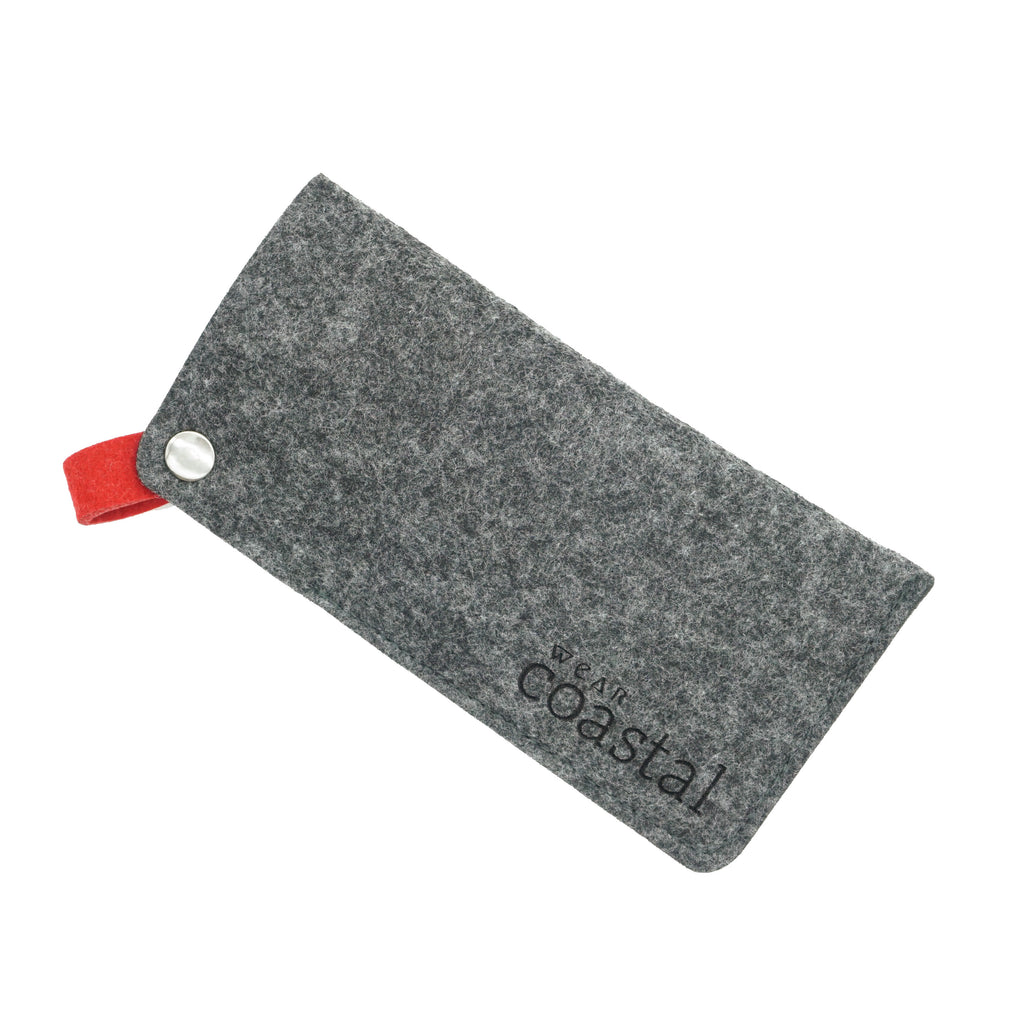 Wear Coastal Felt Sunglasses Case