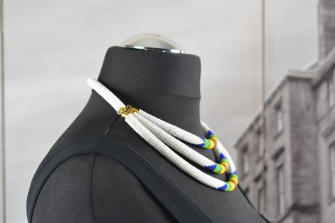 Three Layered beaded necklace - Spring/Summer Collection