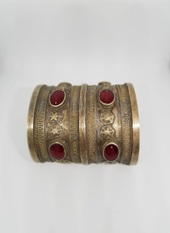 Antique Turkman Cuffs made in Turkmenistan