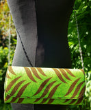 Tube Purse made with Ankara (Wax) fabric