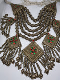 Antique Kashmiri Tribal Layered Necklace