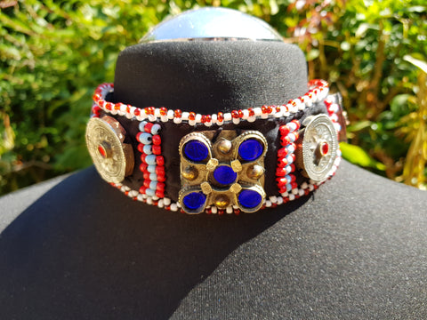 Tribal Balochi Choker: Asian-Fusion Collection
