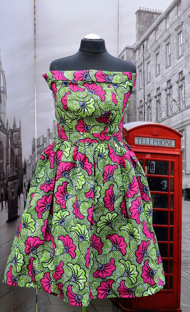 Summer Dresses made with Ankara Print Fabric