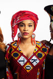 Doek - Beaded South African Headdress