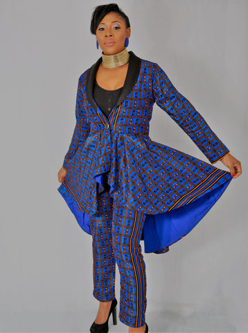 Chichi is our bespoke Jacket and Trouser (set)