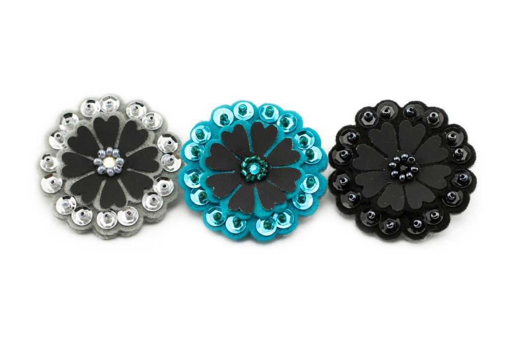 Sparkly Flower - Concrete Jungle Trio