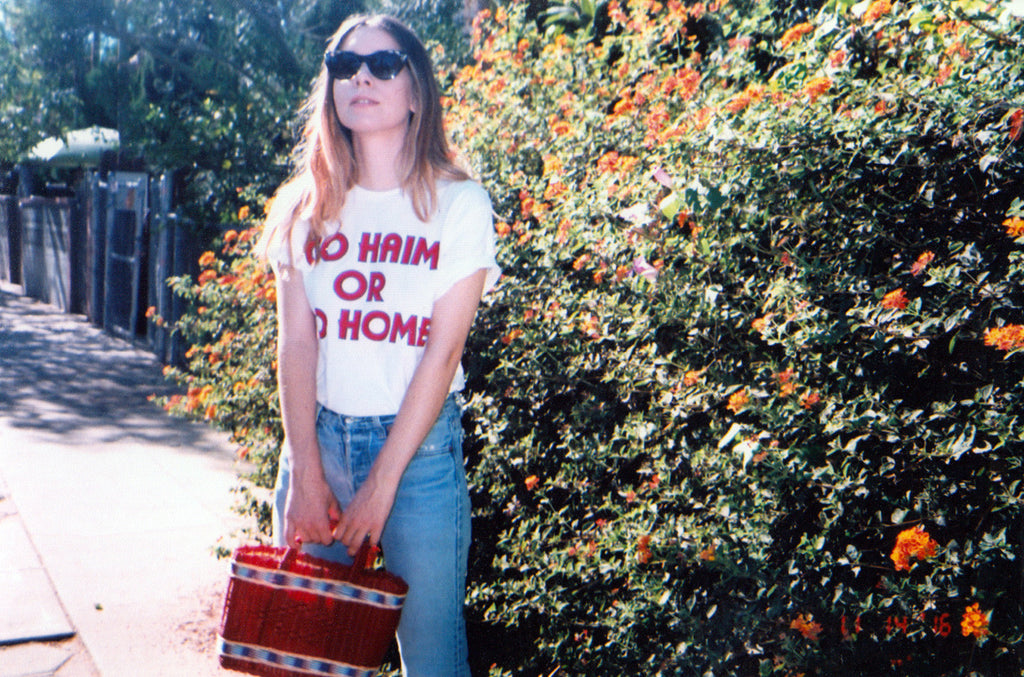 Go HAIM or Go Home in White