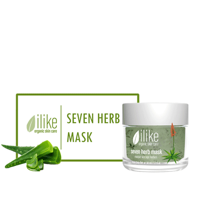 Ilike Gel Mask - Seven Herb - Biosense Clinic