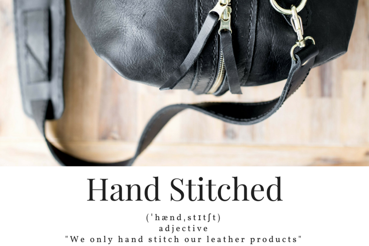 At Swish & Swank, We Sew Our Leather by Hand