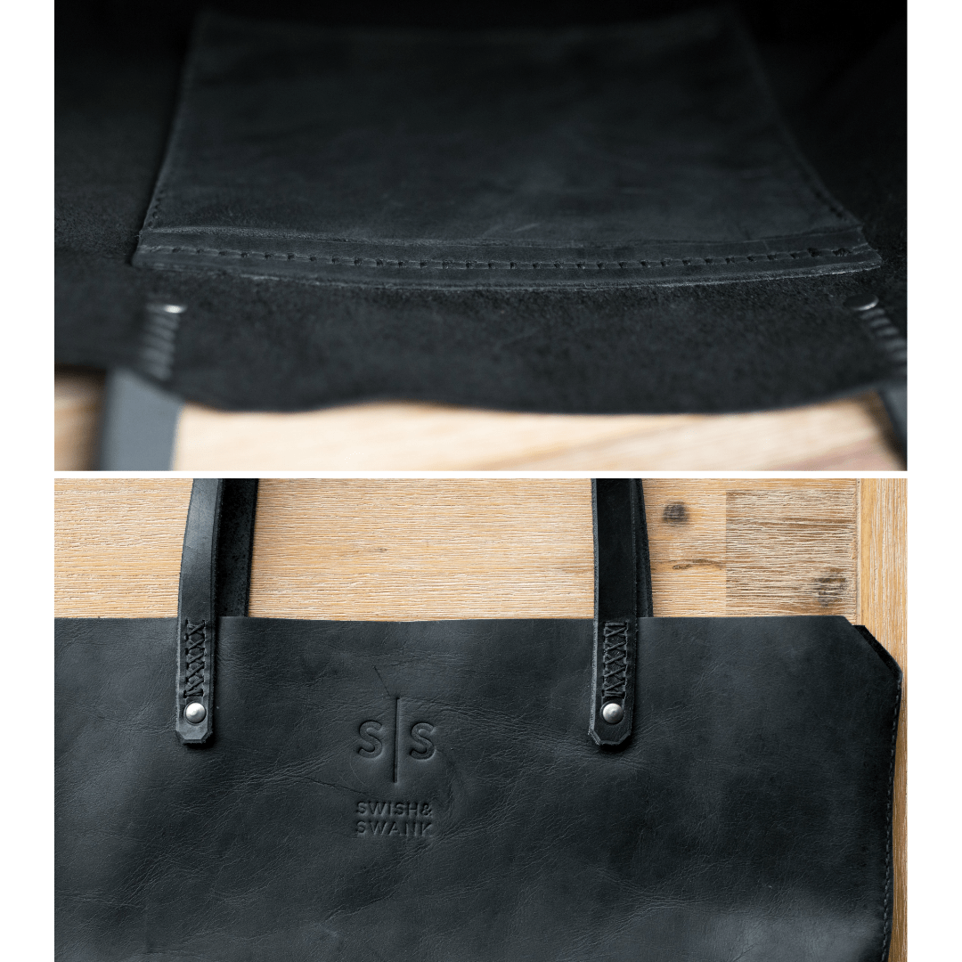 black leather, fashion, genuine leather, hand stitched leather, Handbag, Leather, Leather bag, leather bags, leather brand south africa, leather handbag, Leather Luggage, leather tote bag, Luggage, luxury luggage, south african leather, swish and swank, Totebag Totebag
