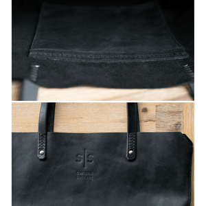 Eve Tote - Black - SWISH & SWANK