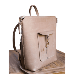Ladies Backpack - Nude