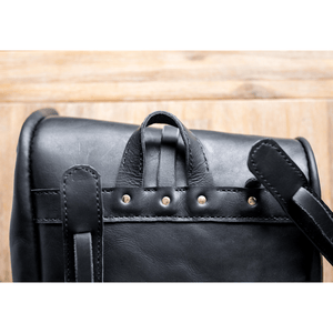 Noah Backpack - Black - SWISH & SWANK