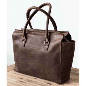 Naomi Handbag - Brown - SWISH & SWANK