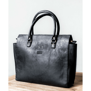Naomi Handbag - Black - SWISH & SWANK