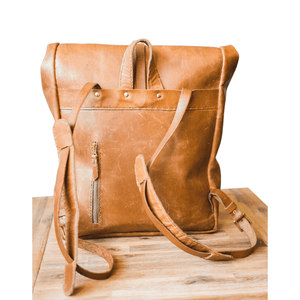 Noah Backpack - Tan - SWISH & SWANK