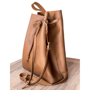 Batseba Bucket Bag - Cognac - SWISH & SWANK