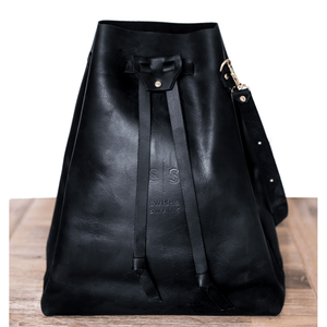 Batseba Bucket Bag - Black - SWISH & SWANK