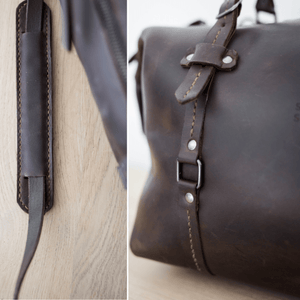 Duffle Bag 2.1 - Chocolate - SWISH & SWANK