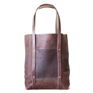 Delilah Tote - Brown - SWISH & SWANK
