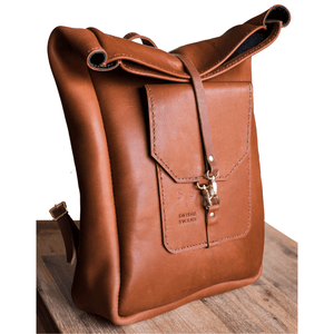 Noah Backpack - Brown - SWISH & SWANK