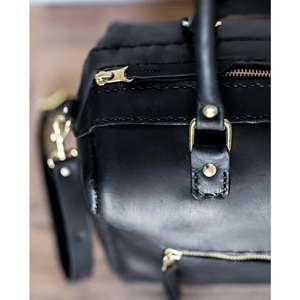 Priscilla Handbag - Black - SWISH & SWANK