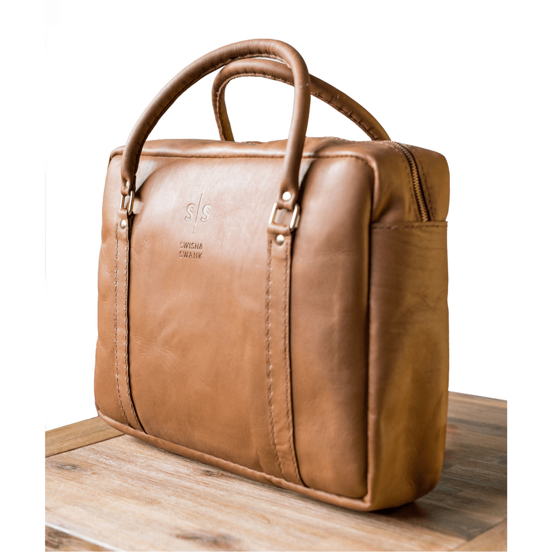 briefcase, Business, corporate bag, fashion, hand stitched leather, Laptop bag, Leather, leather bags, leather brand south africa, leather briefcase, leather laptop bag, leather luggage, local leather, Luggage, mens briefcase, south african leather, swish and swank, Travelling Briefcase