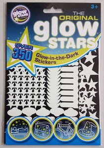 Over 350 Glow-in-the-Dark Stickers