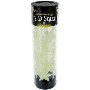 3-D Glow-in-the-Dark Stars