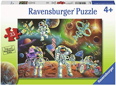 Ravensburger Moon and Space Puzzle - 35 Pieces