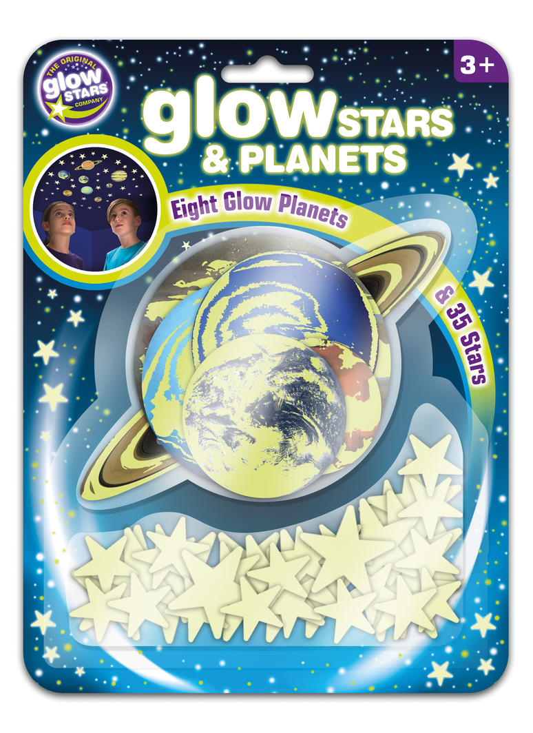Glow-in-the-Dark Stars and Planets