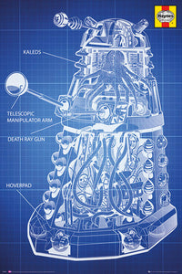 Dalek Diagram Poster
