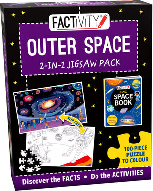 Outer Space 2-in-1 Jigsaw Pack