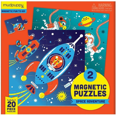 Space Adventure Magnetic Puzzles
