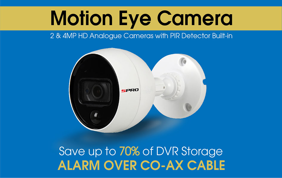 Motion Eye Camera - PIR and CCTV Camera in one – CCTV Outlet