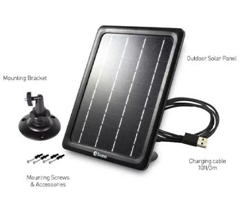 Swann - Weatherproof Solar Charging Panel