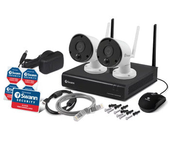 Swann - 4 Channel 1080p Wireless Security System