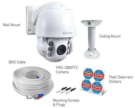 Swann - Outdoor Security Camera - PRO-1080PTZ