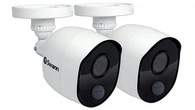 Swann - Swann Thermal Sensor Outdoor Security Cameras 2 Pack