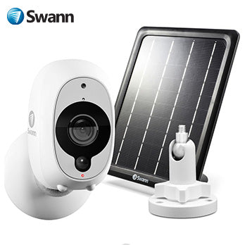 Swann Smart Security Camera Kit - 1080p Full HD Wireless Security Camera with Solar Panel & Outdoor Mounting Stand